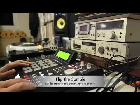 Youtube: Dj Rolxx / Recettes à la mpc #1  (sampling, beatmaking, ect)