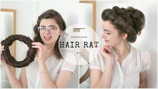 Making An Edwardian Hair Rat