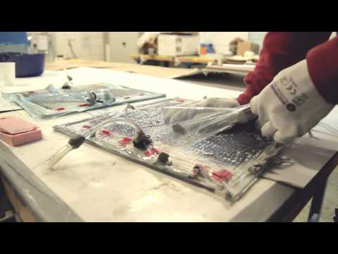 VARTM Carbon Fiber Resin Infusion - Vertical and serial infusion  (FULL video)