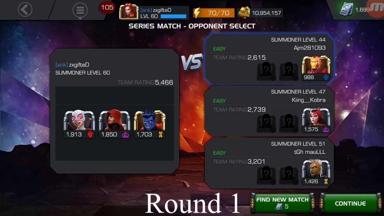 4 Star Arena Easiest Infinite Streak - Marvel Contest of Champions