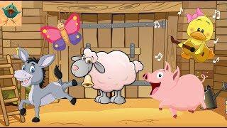 Детская Развивающая игра пазл учим животных