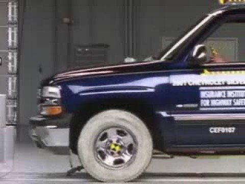 Crash Test 2007 Chevrolet Silverado 1500 Clic 1999 2006 Gmc Sierra Frontal