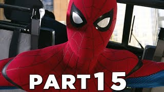 SPIDER-MAN PS4 Walkthrough Gameplay Part 15 - HOMECOMING STARK SUIT (Marvel's Spider-Man)