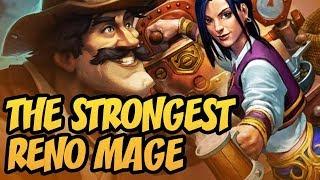 The Strongest Reno Mage   Saviors of Uldum   Hearthstone