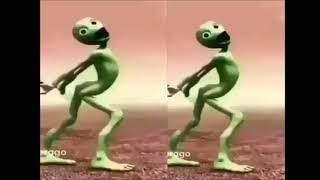 Зелёный человечек танцует часть 2/Green man dancing part 2
