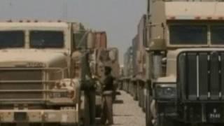 US Military Equipment Leaving Iraq