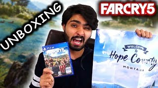 FAR CRY 5 Deluxe Edition Unboxing HINDI PS4 - Quasar Games