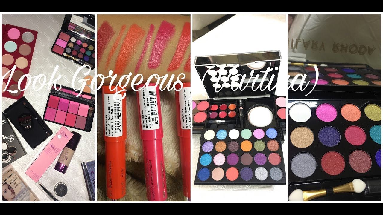 Best Affordable Makeup Products in India/ Where to get makeup in India at best price/ Look Gorgeous - YouTube