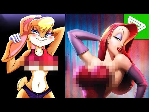 10 Hottest Animated Cartoon Characters thumbnail