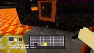 How to Mine Bedrock! (Half Doors and Half Beds Tutorial Too!)