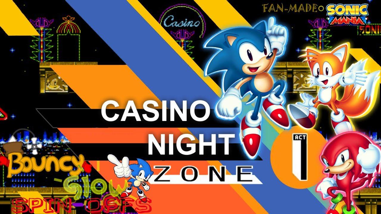 v2 sonic 2 casino night remix youtube