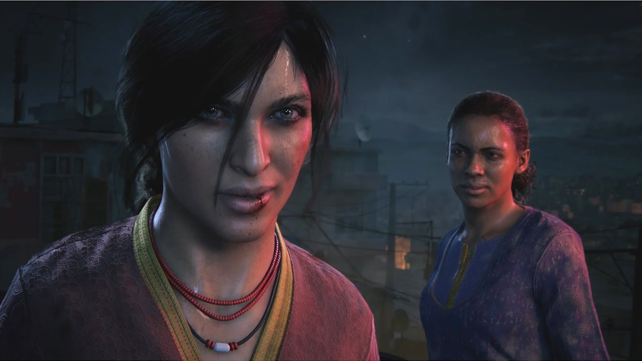 Claudia Black in Uncharted 2017 The Lost Legacy #ClaudiaBlack - YouTube