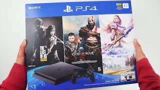 PlayStation 4 1TB Only on PlayStation Bundle Unboxing