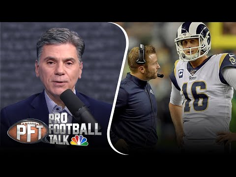 PFT Overtime: Jared Goff believes in Rams offense; Eagles lose Brandon Brooks   NBC Sports