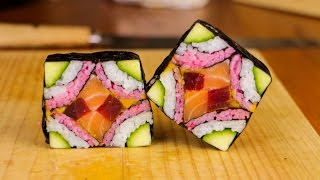 Mosaic Sushi Roll in 28 seconds - Channel trailer thumbnail