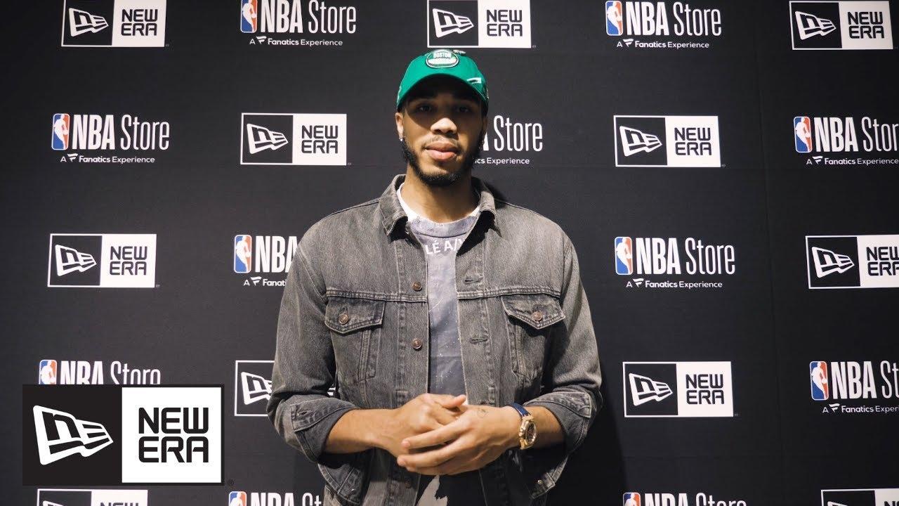 watch 4798e 215cb NBA Draft: Cam Reddish and Jayson Tatum Interview   NBA   New Era Cap