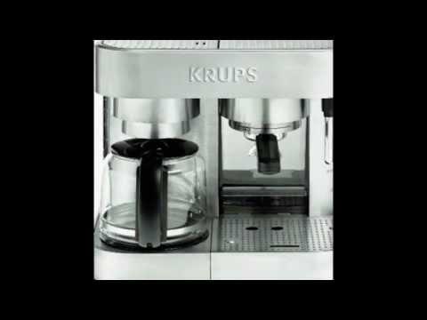 KRUPS XP6040 Die Cast Pump Espresso Machine and Coffee Maker Combination