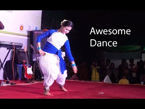 Bangla New Stage Dance 2018  BD Stage Dance Show  (abar ashibo phire)
