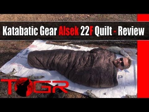 Light, Warm and Expensive - Katabatic Gear Alsek 22F Quilt - Review
