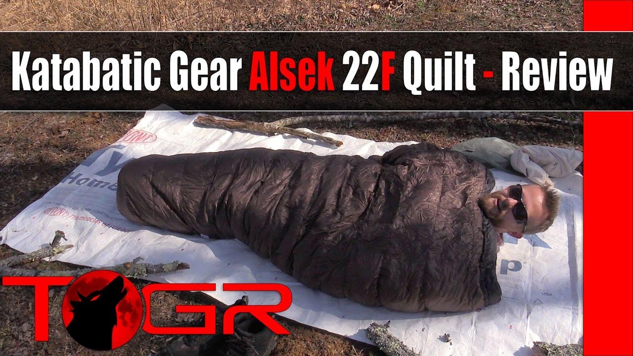Light Warm And Expensive Katabatic Gear Alsek 22F Quilt