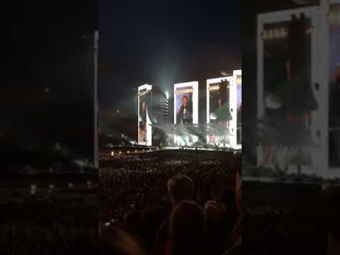 Rolling Stones Jumping Jack Flash live at Croke Park Dublin 2018