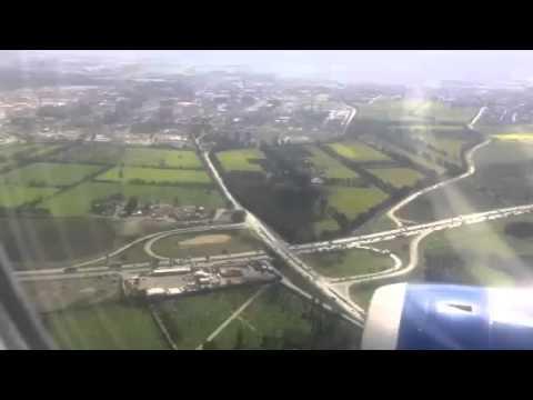 نزول طائرة الخطوط البريطانية في الجزائر   British Airways plane landing in Algiers
