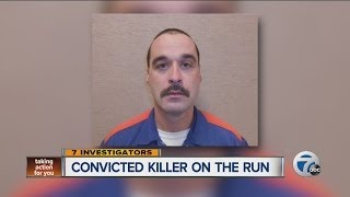 Convicted killer on the run