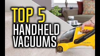 Best Handheld Vacuum Cleaners in 2018 - Which Is The Best Handheld Vacuum? | 10BestOnes
