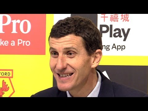 Watford 0-1 Arsenal - Javi Gracia Full Post Match Press Conference - Premier League
