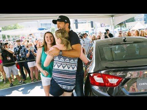 #ChevyCMA: Luke Bryan Car Karaoke with Luke Bryan at CMA Fest
