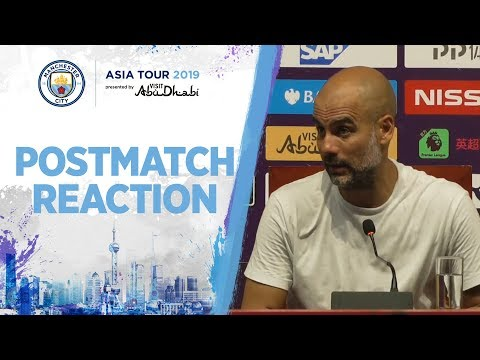 CITY 4-1 WEST HAM | Pep Guardiola and Tommy Doyle react to pre-season win