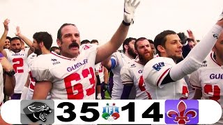 PANTHERS Parma vs GUELFI Firenze IFL 2016 HD Highlights