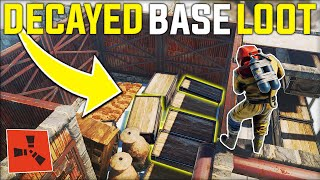 This Rich RUST DECAYED JACKPOT BASE Gave Me The PERFECT START on WIPE DAY! - Rust Gameplay