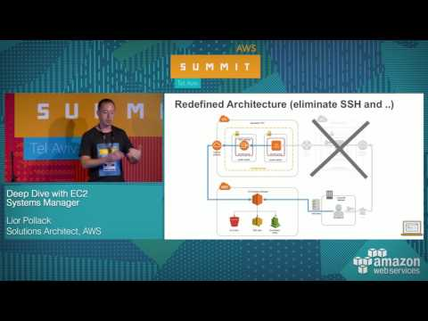 AWS Summit Tel Aviv 2017: Deep Dive with EC2 Systems Manager