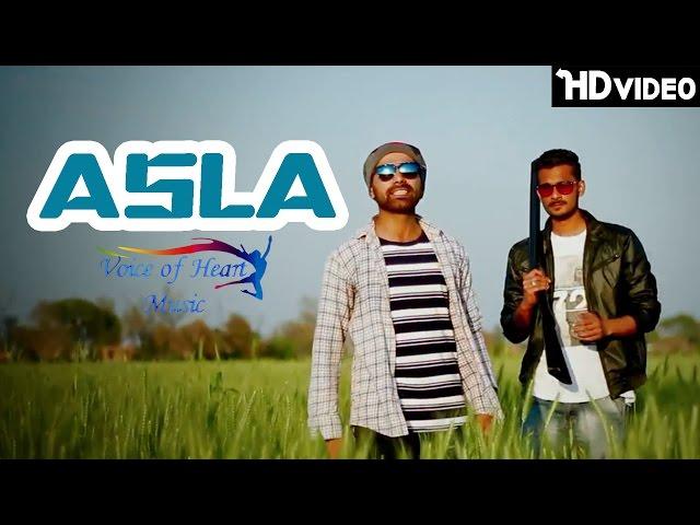 Asla   Latest Haryanvi Songs 2017   Shubh Panchal   Ash Cruz   Voice of Heart Music