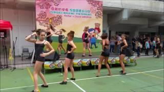 現場跳《Diva》舞!