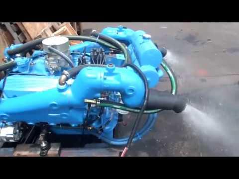 Crusader 454ci 350Hp Marine Engine - YouTube