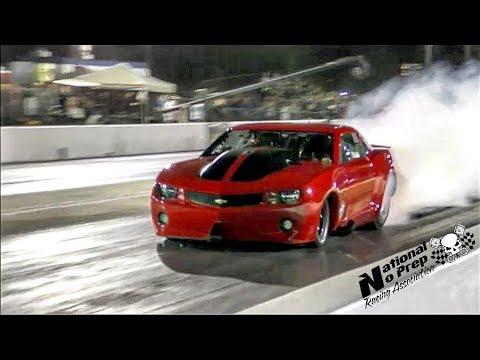 The 55 vs Fireball Camaro in an epic race at Orangeburg,SC Street Outlaws no prep live event