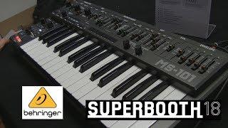 Behringer MS -101: реплика Roland SH-101! (Superbooth18)