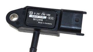 видео Датчик абсолютного давления 45.3829, устройство, работа, проверка