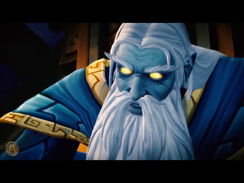 Sargeras Summons Argus Cinematic [WoW Legion - 7.3.5]