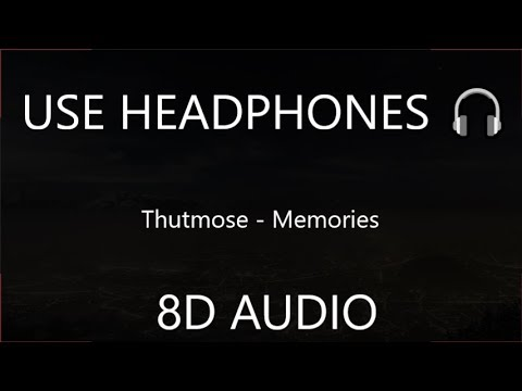 Thutmose - Memories (8D Audio)  [Spider Man: Into The Spider Verse : OST] 🎧