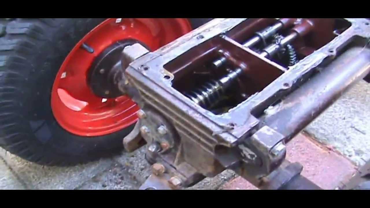 1969 Bolens 850 Transaxle Problems - Part I