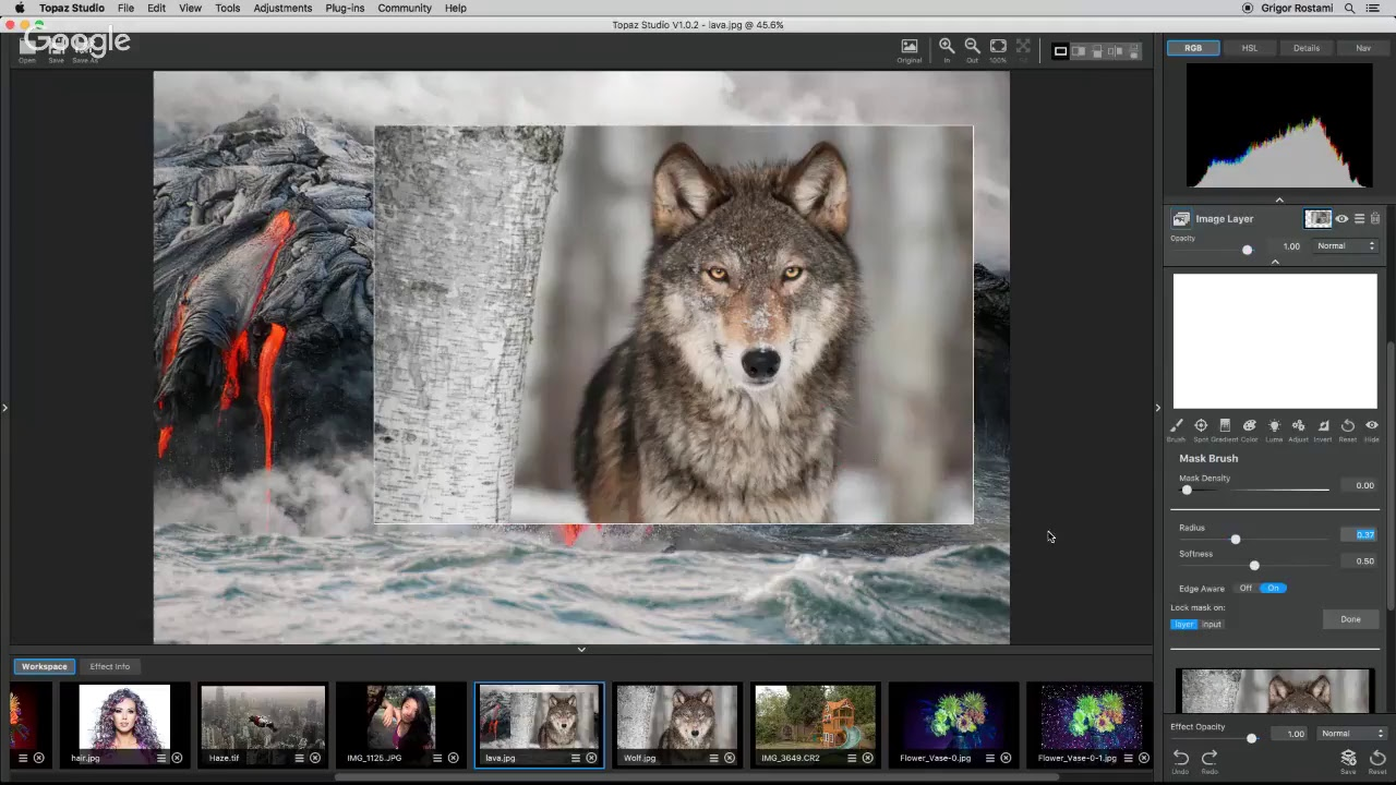 Introduction to Topaz Studio
