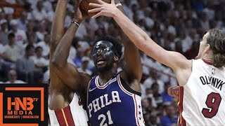 Philadelphia Sixers vs Miami Heat Full Game Highlights / Game 3 / 2018 NBA Playoffs