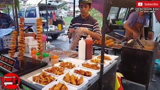 Malaysia Pasar Malam (Night Market) | Fried Chicken & Potato Twister in Langkawi