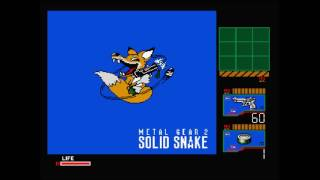 [MSX2] Metal Gear 2 - Solid Snake (1990) (Konami) with Fan Translation and Turbo Fix Hack