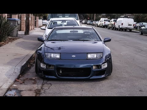 300ZX GETS A NEW LOOK!! (BODY KIT + EXHAUST)