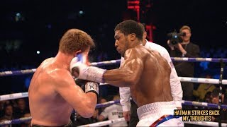 ANTHONY JOSHUA'S NEW STYLE; WHERE DID IT COME FROM???