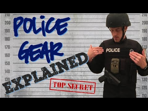 Police Duty Gear Explained